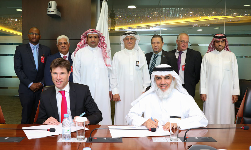 Signing a training and cooperation agreement between SESP and NOSA