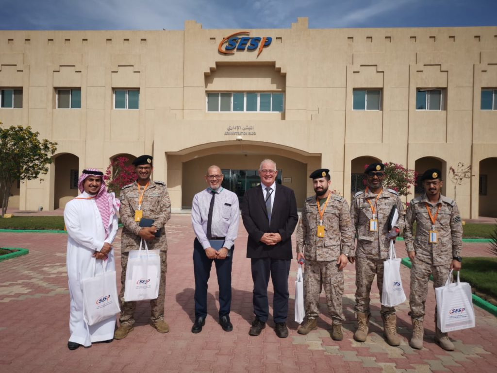 Visit of the Naval forces team to SESP JTC on 8th of April 2019