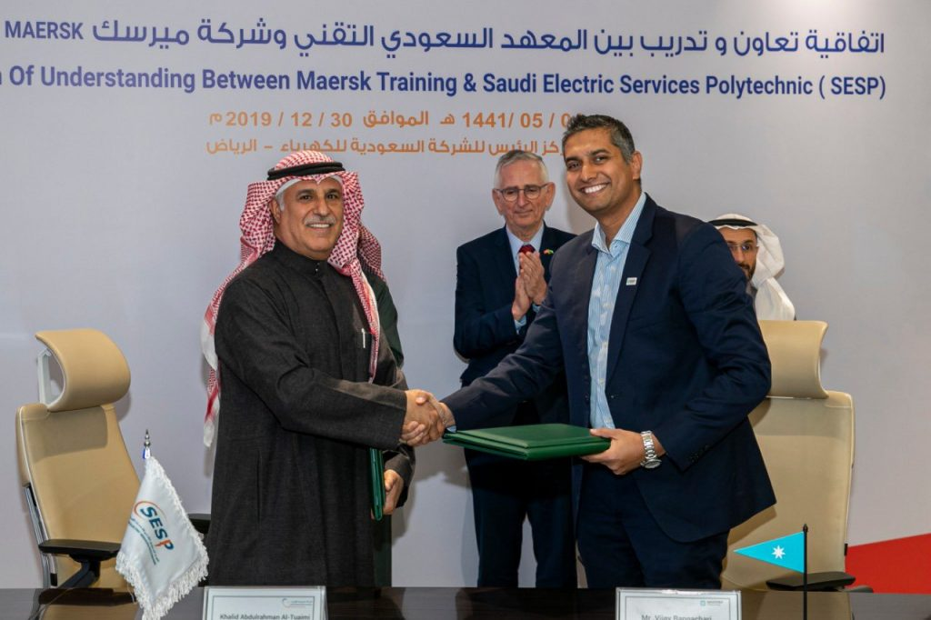 SESP signs a cooperation and training agreement with the MAERSK